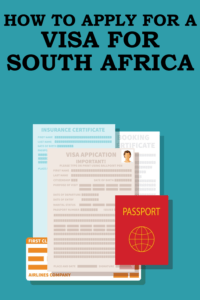 How to apply for a visa to visit South Africa