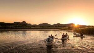 River Rafting at Orange River South Africa