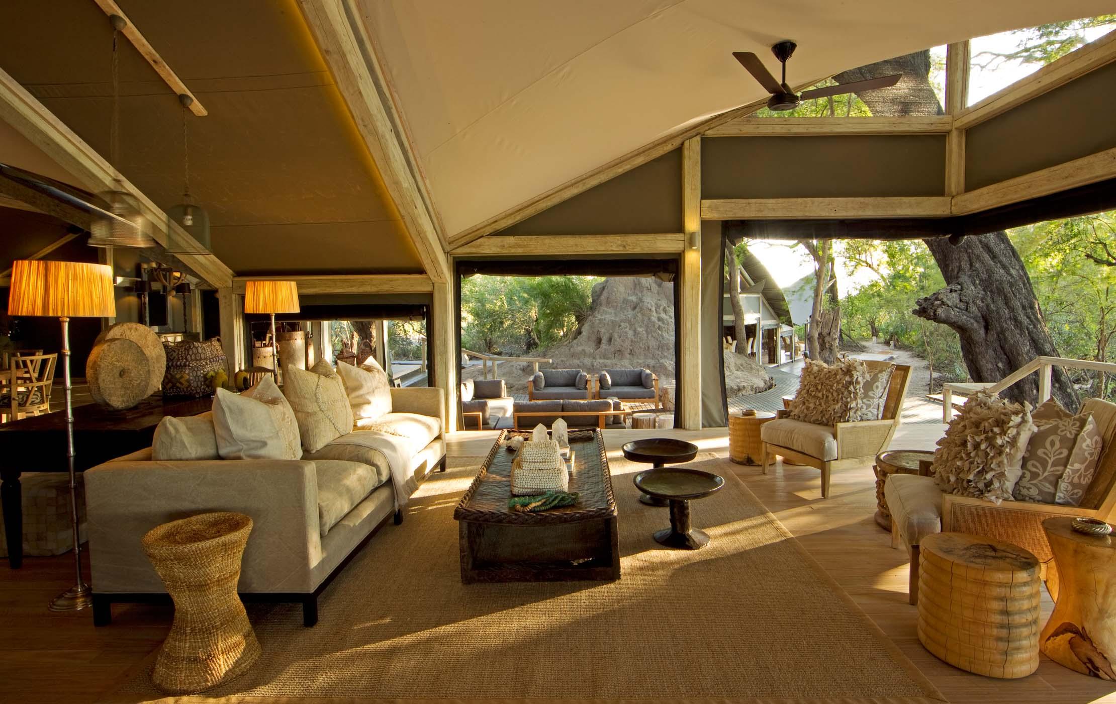 abu camp botswana luxury honeymoon