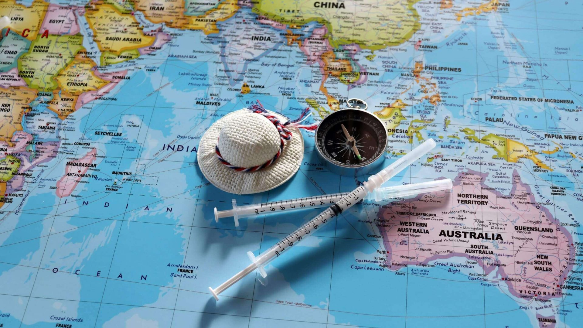 list of vaccinations for travel to south africa