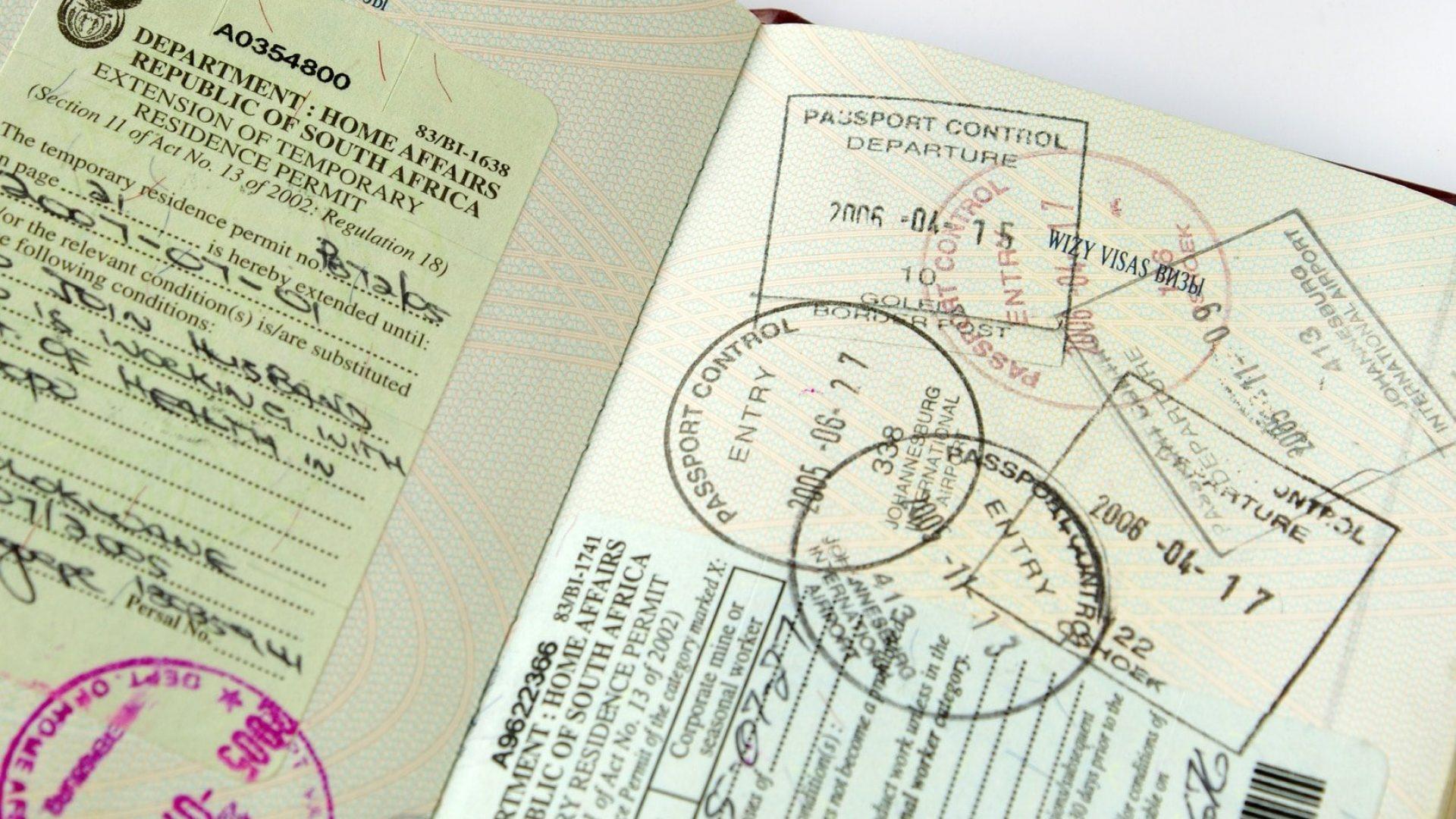 south africa tourist visa
